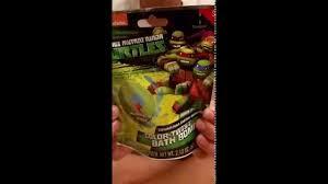 Tmnt Bathroom Set Ninja Turtle Color Twist Bath Bomb Youtube