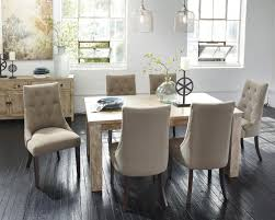 Dining Room Set With Upholstered Chairs by 7 Piece Dining Set With Upholstered Side Chairs By Signature
