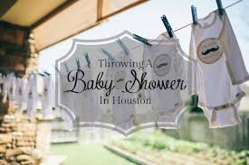 baby shower venues in throwing a baby shower in houston
