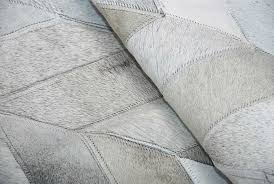 Silver Cowhide Rug Fantastic Gray Chevron Patchwork Cowhide Rug Shine Rugs