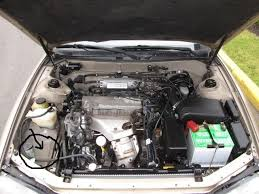 1996 toyota camry motor 96 i4 empty spot in engine bay between wiper fluid coolant