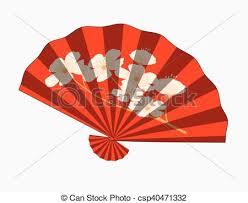 japanese folding fan retro japanese folding fan vector illustration vectors search