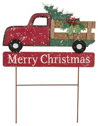 Outdoor Christmas Decorations Stakes by Glitzhome 24 02
