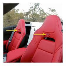 2014 corvette stingray emblem c7 corvette stingray z06 grand sport 2014 crossed flags seat