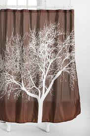 Brown And White Bathroom by Best 25 Tree Shower Curtains Ideas On Pinterest Pretty Shower
