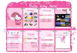 hello kitty themes for xperia c hello kitty theme by skyna on deviantart