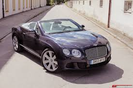 bentley convertible road test 2013 bentley continental gtc w12 review