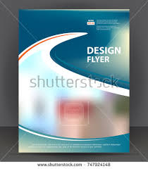 abstract flyer brochure cover layout design stock vector 518931133