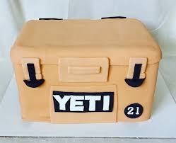 tan yeti cooler cake 21st birthday cake tippy tootles cakes