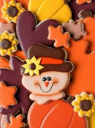 thanksgiving day cookies archives the bearfoot baker