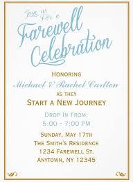 carlton invitations farewell invites we like design