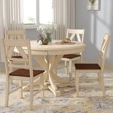 round wooden kitchen table and chairs round kitchen dining room sets you ll love wayfair