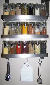 kitchen alluring wall mount spice rack for your kitchen