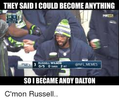 Russell Wilson Memes - they saidicouldbecome anything nfl fox 16 912 2nd 10 russell