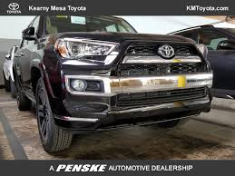toyota forerunner 2018 new toyota 4runner limited 2wd at kearny mesa toyota serving