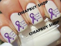 flash sale pancreatic cancer awareness purple ribbon logo
