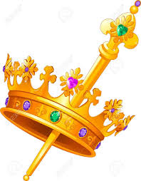 mardi gras crown mardi gras crown and scepter royalty free cliparts vectors and