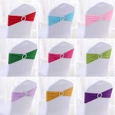 spandex chair sash factory price 100 pcs spandex chair bands spandex chair sash