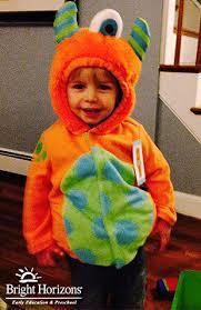 Toddler Monster Halloween Costume Minute Halloween Costumes Bright Horizons Blog