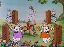 funny bunnies 1934 internet animation database