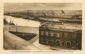 chambre de commerce boulogne cpa 62 boulogne sur mer la chambre de commerce le port et