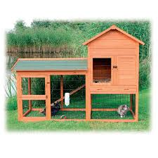 Sale Rabbit Hutches Trixie Natura Two Story Rabbit Hutch With Large Run Petco