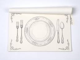 decorative paper placemats chic placemats verterra dinnerware