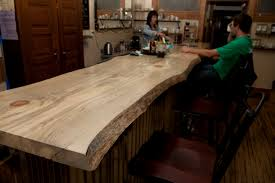 Slab Wood Bar Top Furniture Bad Goat Forest Products