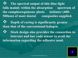 what is a dental curing light used for light cure
