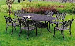restaurant outdoor aluminum patio furniture black metal patio