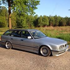 bmw e30 modified bmw e34 520 touring 24v manual stance drift modified lowered not