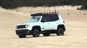 renegade jeep roof 2015 jeep renegade trailhawk pismo dunes youtube