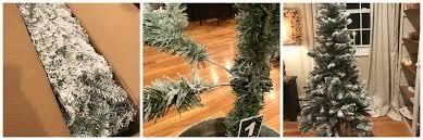white christmas create a 6 u0027 flocked christmas tree for under 40