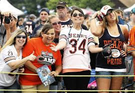chicago bears fan site optimism for chicago bears high despite injuries