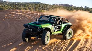 new jeep concept 2017 behind the wheel of the jeep trailcat wrangler concept the drive