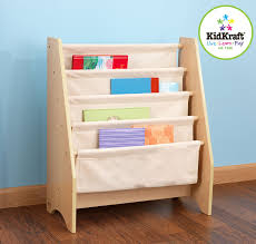amazon com kidkraft sling bookshelf natural toys u0026 games