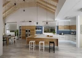 cuisine ouverte avec ilot table luminaire ilot central cuisine 2 cuisine ilot central plafond