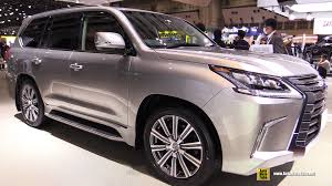lexus lx 570 interior photos 2016 lexus lx570 exterior and interior walkaround debut at