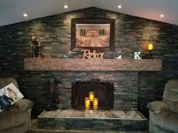 how to update a fireplace easily faux wood workshop