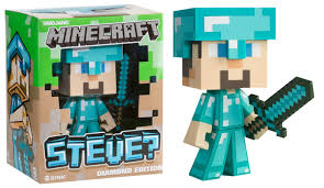diamond steve minecraft diamond steve vinyl statue eb new zealand