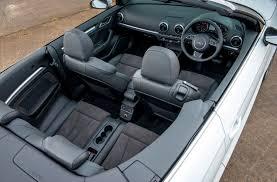audi convertible interior audi a3 stylish but sluggish