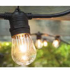 light bulb string lights hi line gift ltd vintage commercial patio string lights with 12