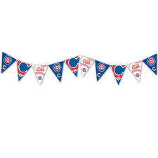 Cubs Flag Mlb Licensed Chicago Cubs Pennant Party Banner U2013 Party Majors