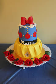 snow white inspired cake this was for my middle daughter u0027s u2026 flickr