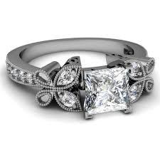 princess cut black engagement rings 1 5 carat princess cut ring on ring diamantbilds