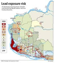 louisiana state map key income location key in risk for lead in clark county the columbian