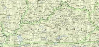 kentucky map kentucky outline maps and map links