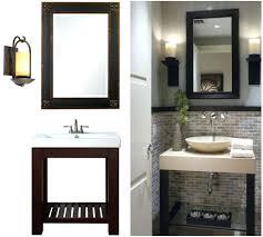 mirrors bathroom mirrors wood frame framing mirrors ideas