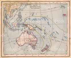 old color map of australia from 1800s stock photo 483957585 istock
