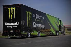 photos semi trucks kawasaki logo photograph